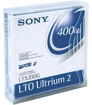 SONY LTX200G LTO2 200-400GB Tape