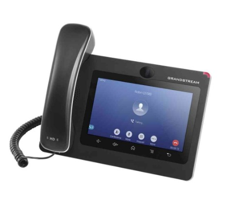 Grandstream Networks GXV3370 IP phone Black 16 lines LCD Wi-Fi