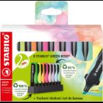 STABILO GREEN BOSS Pastel marker 8 pc(s) Conical tip Multicolour