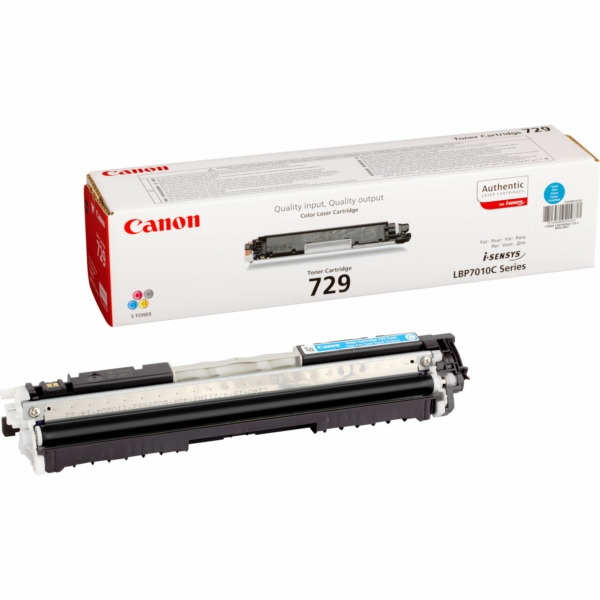 Canon 4369B002 (729 C) Toner cyan, 1000 pages