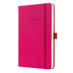 Sigel CO573 A5 194sheets Pink writing notebook