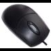 Accuratus MOUAC3331-BLK mouse USB+PS/2 Optical 400 DPI Right-hand