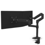 Ergotron LX Dual Stacking Arm (matte black)
