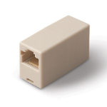 Belkin RJ45 Inline Coupler RJ45 RJ45 Yellow cable interface/gender adapter