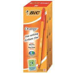 BIC Orange Fine Stick ballpoint pen Fine Red 20pc(s)