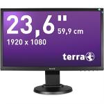 "Wortmann AG Terra LED 2455W PIVOT 23.6"" Full HD LCD Black computer monitor"