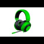 Razer Kraken Pro V2 Monaural Head-band Black,Green headset