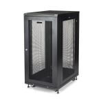"StarTech.com 24U Server Rack Cabinet - 4-Post Adjustable Depth (2"" to 30"") Network Equipment Rack Enclosure w/Casters/Cable Management/Shelf /Locking Dell PowerEdge HP ProLiant ThinkServer"