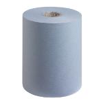 SCOTT Ess H/Towels Slimoll Blue 6696 Pk6