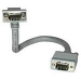 C2G 7m Monitor HD15 M/F cable