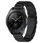 Spigen 600WB24980 smartwatch-accessoire Band Zwart Roestvrijstaal