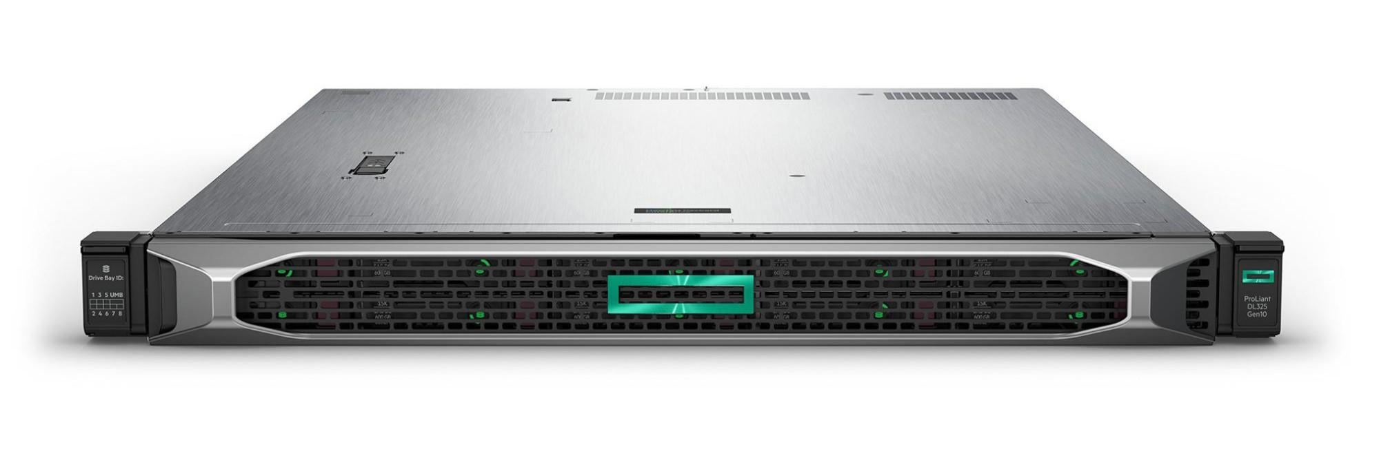 Hewlett Packard Enterprise ProLiant DL325 Gen10 servidor AMD EPYC 3 GHz 16 GB DDR4-SDRAM 24 TB Bastidor (1U) 800 W