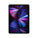 """Apple iPad Pro 5G TD-LTE & FDD-LTE 2048 GB 27.9 cm (11"""") Apple M 16 GB Wi-Fi 6 (802.11ax) iPadOS 14 Silver"""