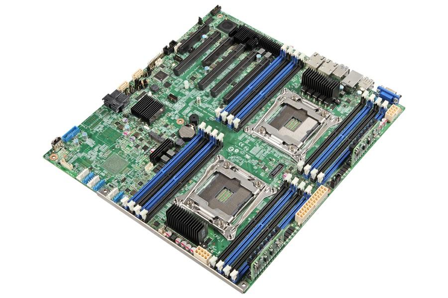 Intel S2600CW server-/werkstationmoederbord LGA 2011 (Socket R) SSI EEB Intel® C612