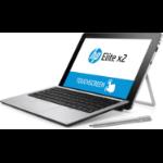 "HP Elite x2 1012 G1 Hybrid (2-in-1) 12"" 1920 x 1280 pixels Touchscreen Intel® Core™ M 4 GB LPDDR3-SDRAM 128 GB SSD Windows 10 Pro Silver"