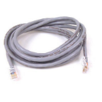 "Belkin RJ45 CAT-5e Patch Cable, Gray, 14 feet networking cable 165.4"" (4.2 m) Grey"