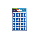 Avery Coloured Label Round 12mm Diameter Blue (245 Labels) PK10