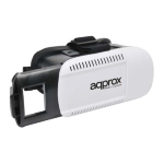 Approx appVR01 Smartphone-based head mounted display 360g Black,White
