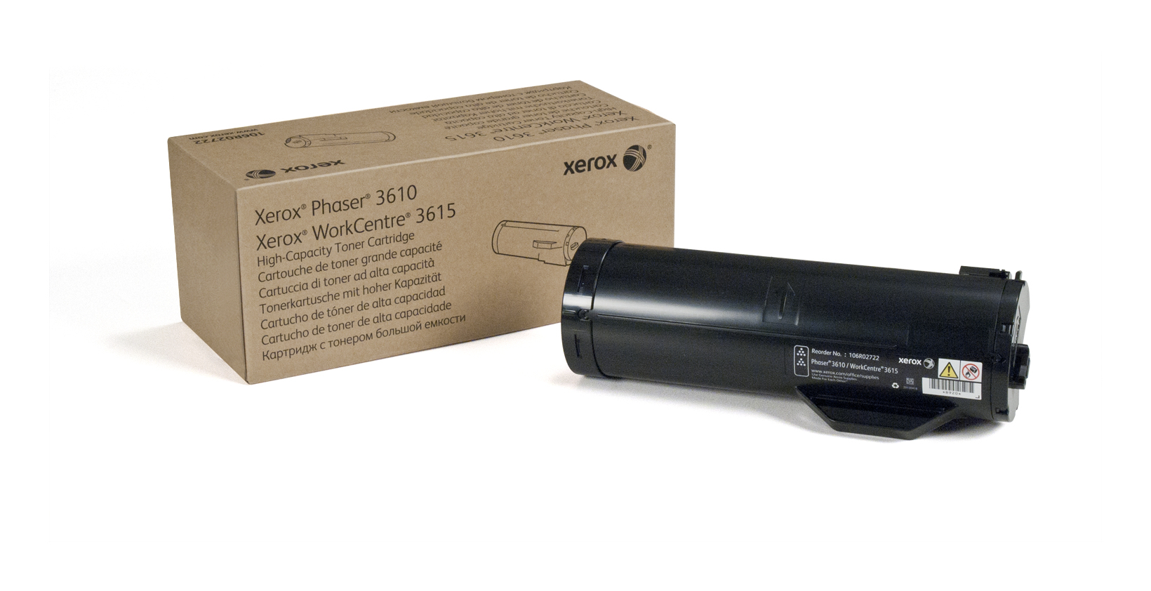 Xerox Phaser 3610/Workcentre 3615 Cartucho De Tóner Negro De Gran Capacidad (14100 Páginas)
