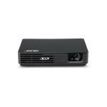 Acer C120 LED data projector 100 ANSI lumens DLP WVGA (854x480) Portable projector Black