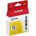 Canon PGI-72 Y cartucho de tinta 1 pieza(s) Original Rendimiento estándar Amarillo
