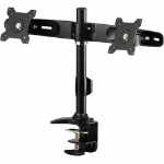 "Amer AMR2C 24"" Clamp Black flat panel desk mount"