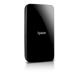 Apacer AC233 external hard drive 1000 GB Black