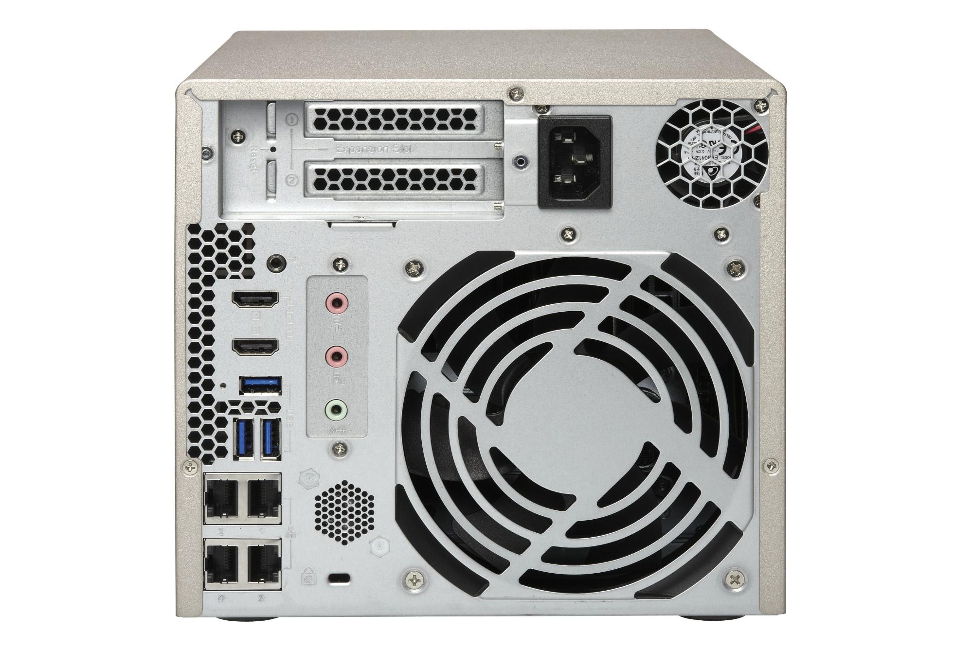 QNAP TVS-473E Ethernet LAN Tower Grey NAS