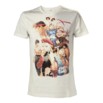 Capcom Street Fighter IV Men's Character Roster T-Shirt, Extra Large, White (TS504573SFG-XL)