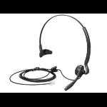 POLY 45647-04 headphones/headset Ear-hook,Head-band Black