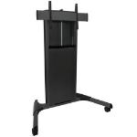 "Chief XPA1UB flat panel floorstand 2.54 m (100"") Portable flat panel floor stand Black"