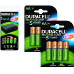 2-Power 4 x AA, 4 x AAA, 4 x C/D, 1 x 9 V 450mAh rechargeable battery