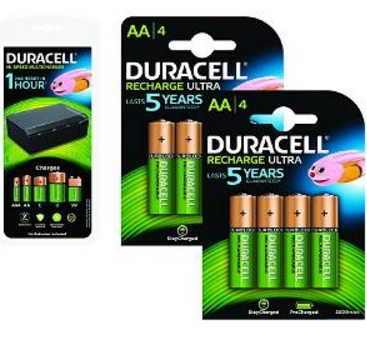 2-Power 4 x AA, 4 x AAA, 4 x C/D, 1 x 9 V