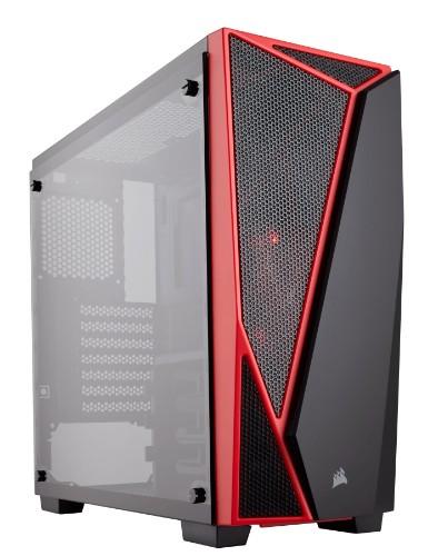 Corsair Carbide SPEC-04 Midi-Tower Black,Red