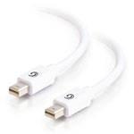 C2G 81285 3m Mini DisplayPort Mini DisplayPort White DisplayPort cable