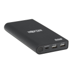 Tripp Lite UPB-20K0-2U1C power bank Black Lithium-Ion (Li-Ion) 20100 mAh