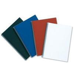 GBC LinenWeave Binding Covers 250gsm A4 Red (100)