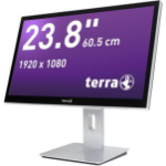 "Wortmann AG TERRA 2415HA GREENLINE 60.5 cm (23.8"") 1920 x 1080 pixels Touchscreen 9th gen Intel® Core™ i5 8 GB DDR4-SDRAM 250 GB SSD Windows 10 Pro Wi-Fi 5 (802.11ac) All-in-One PC Silver"