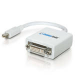 C2G 21mm Mac-Compatible Mini DisplayPort Male to DVI-D Female Adaptor