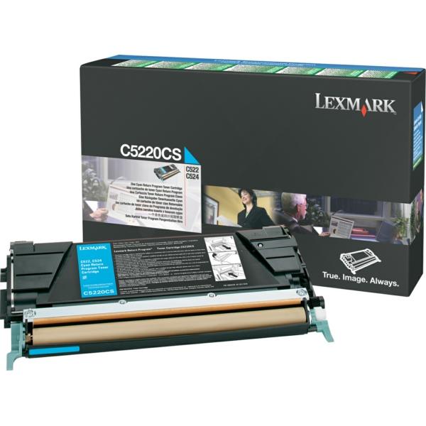 Lexmark C5220CS Toner cyan, 3K pages