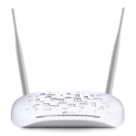 TP-LINK 300Mbps Wireless N USB VDSL/ADSL Modem Router