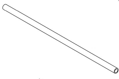Zebra 30007-8 rodillo de transferencia Rodillo de alimentación de papel para impresora