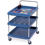 FSMISC DEEP LEDGE 3TIER TROLLEY BLUE 310780788