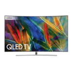 "Samsung 55IN Q8 CURVED TV1 55"" 4K Ultra HD Smart TV Wi-Fi Silver LED TV"