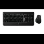 Logitech MX900 Bluetooth QWERTZ German Black