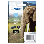 Epson C13T24254012 (24) Ink cartridge bright cyan, 360 pages, 5ml