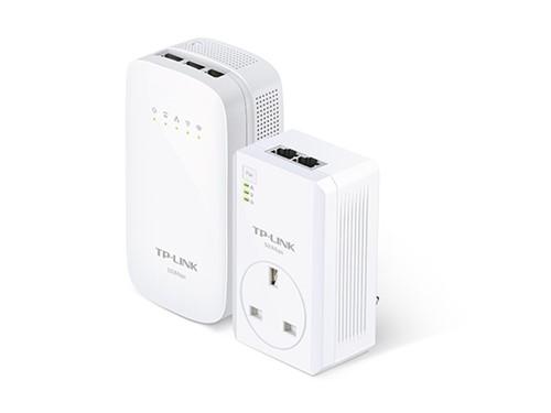 TP-LINK TL-WPA4530 KIT AC Wi-Fi Powerline, Range Extender/Wi-Fi Booster/Hotspo