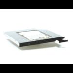 "MicroStorage KIT840 2.5"" Black,Silver HDD/SSD enclosure"