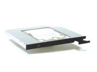 "MicroStorage KIT840 2.5"" Black,Silver HDD/SSD enclosure"