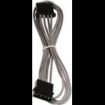 BitFenix Molex (4-pin) 45 cm. Internal 0.45m Molex (4-pin) Molex (4-pin) Black,Silver power cable